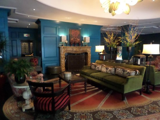 Monaco Alexandria, a Kimpton Hotel: Beautiful lobby