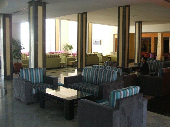 Eden Club Skanes : hall d'accueil