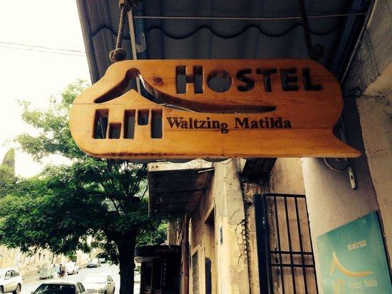 Waltzing Matilda City Hostel : Вальсирующий дом)