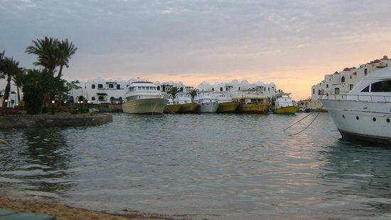 Arabella Azur Resort: Бухта