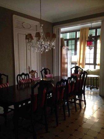 Casa de Billy Barcelona : 朝食をいただくDining Room