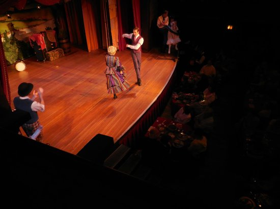 The Hoop-Dee-Doo Musical Revue: Show started - view from the balcony
