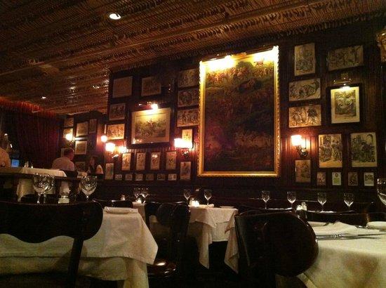 Keens Steakhouse: More memorabilia.