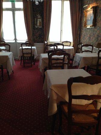 Hotel d'Angleterre, Saint Germain des Pres: Dining room