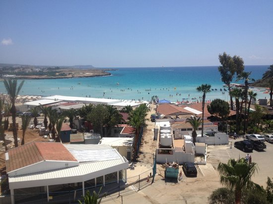 Adams Beach Hotel: View from the 3rd flr