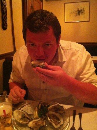 Restaurant de la Poste: Oysters