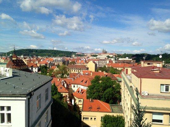Clarion Hotel Prague Old Town: Udesigten fra balkonen
