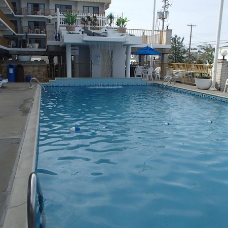 Roman Holiday Motel: Roman Holiday pool