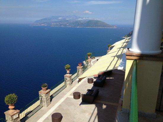 Caesar Augustus Hotel: The main terrace