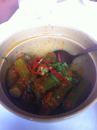 The Red Fort : Great Okra dish