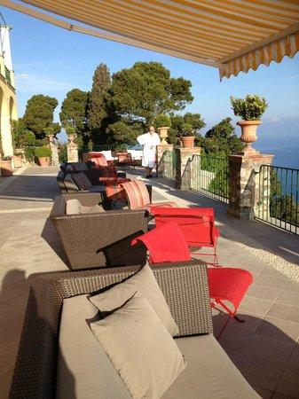 Caesar Augustus Hotel : terrace