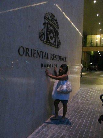Oriental Residence Bangkok: Hotel Sign