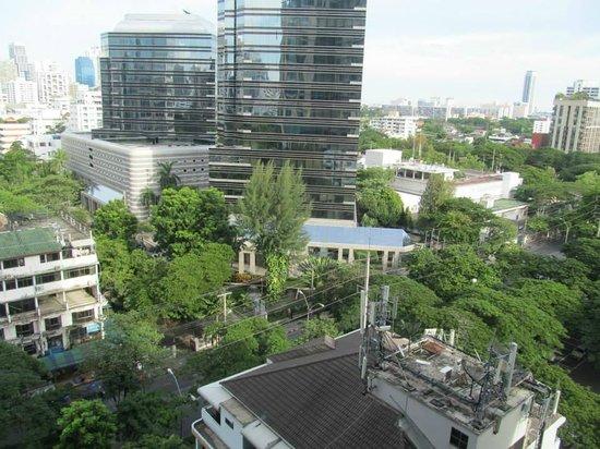 Oriental Residence Bangkok: view from room window