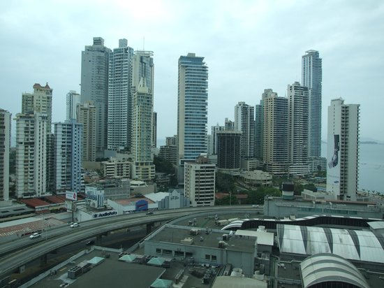 Radisson Decapolis Hotel Panama City: View from our room!