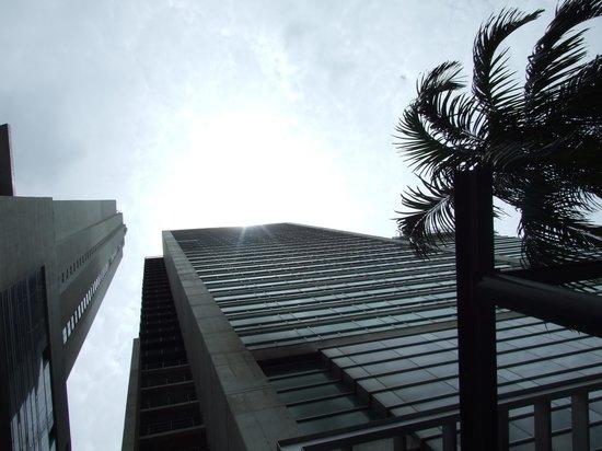 Radisson Decapolis Hotel Panama City: Hotel view