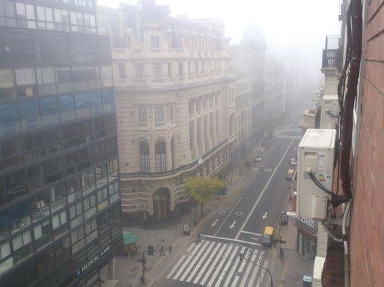 Hotel Centro Naval : Vista desde la Venta del Hotel, nos toco Neblina pero muy lindo =)