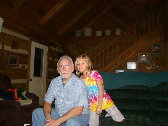 The Wright Cabins: Grandpa & Kaitlyn, Rocky Top 2008