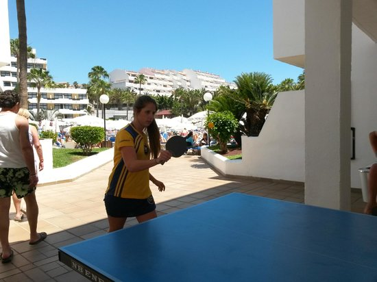 Iberostar Las Dalias : Ping pong