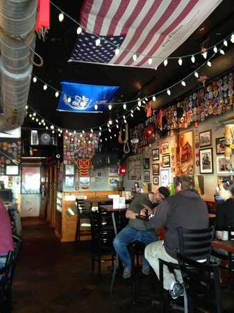 The Halligan Bar and Grill: some of the decor