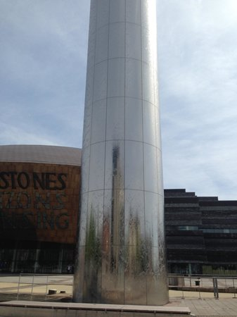 Wales Millennium Centre: The water tower
