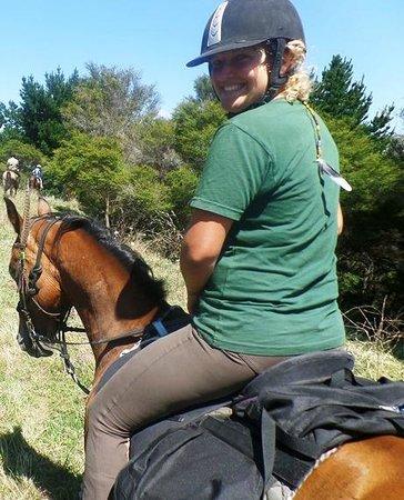Briars Horse Trek: Niki and Leo