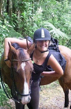 Briars Horse Trek: Giggly girl