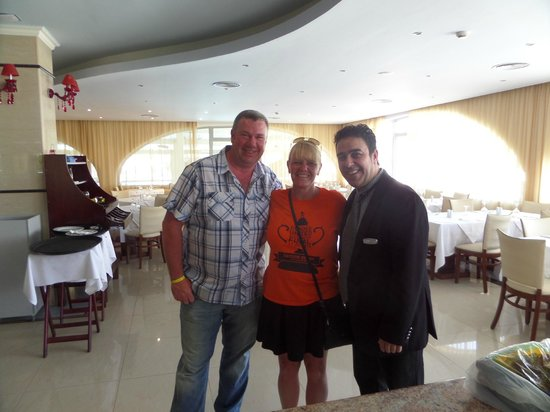 Lydia Maris Resort & Spa: us with f and b manager