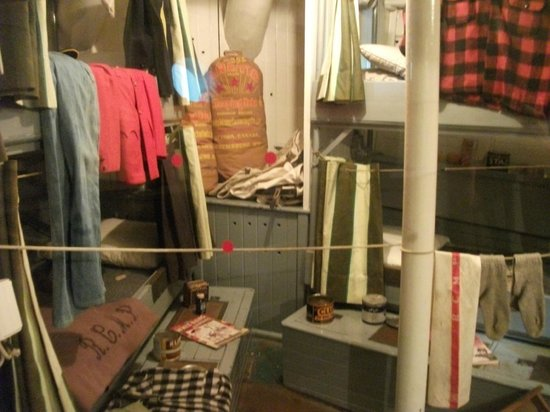 Vancouver Maritime Museum: Sleeping quarters St Roch