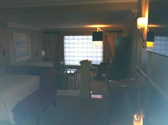 The Venetian Las Vegas : Sunken living space