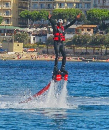 Flyboard Malta: Serge mpina