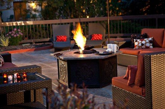 Denver Marriott West: Fireside