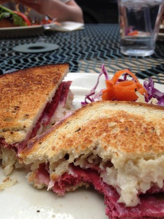 Liquid Earth: Reuben sandwich