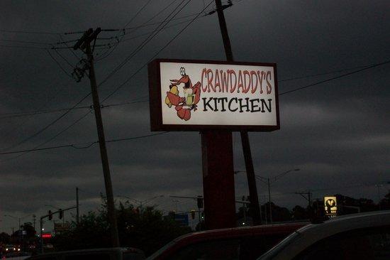 Crawdaddy's Kitchen: Sign