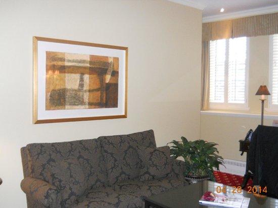 Hotel Le St-James: Suite 10th floor