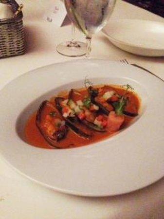Grand Velas Riviera Maya: Mussels at Lucca