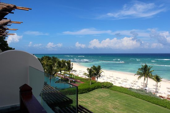 Grand Velas Riviera Maya: View from our balcony