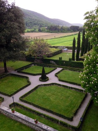 Villa di Piazzano : Room with a view