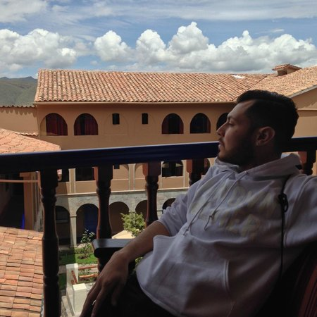 Casa Andina Standard Cusco San Blas : our balcony