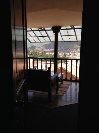 Casa Andina Classic Cusco San Blas: View from our room on the 2nd floor