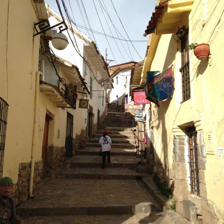 Casa Andina Standard Cusco San Blas: walking areas near hotel Casa Andina Classic - Cusco San Blass
