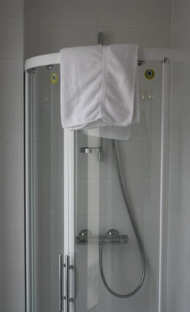 Le Mulberry: Shower (no tub)