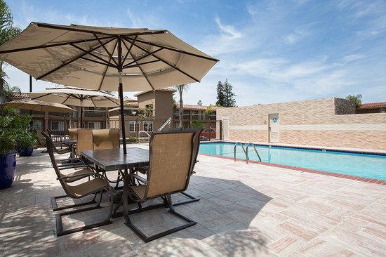 BEST WESTERN University Inn Santa Clara : Pool Seating