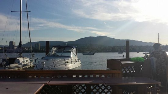 Dinghy Dock Pub & Floating Restaurant: Great view!
