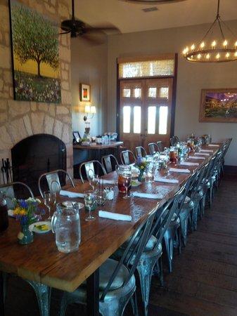 Sage Hill Inn & Spa: Dining room