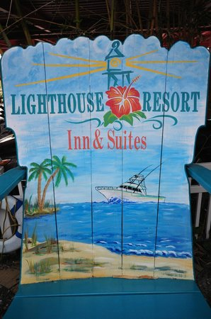 Lighthouse Resort Inn And Suites: The Big Chair