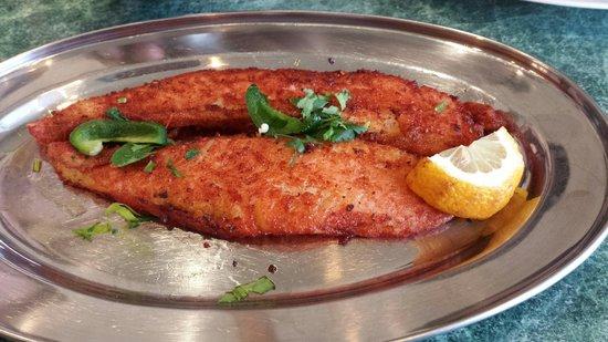 Five Hot Chillies: Masala Fish