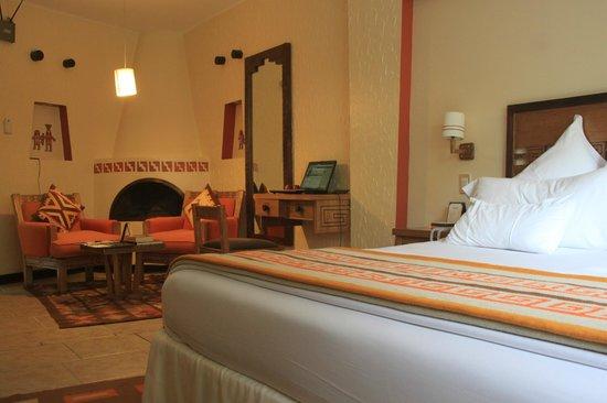SUMAQ Machu Picchu Hotel: Acogedora.
