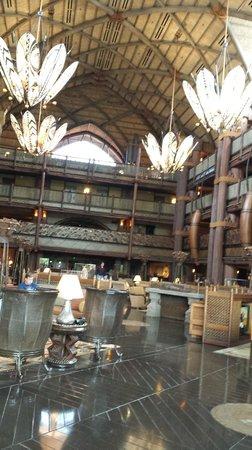 Disney's Animal Kingdom Lodge: Lobby of Jambo House