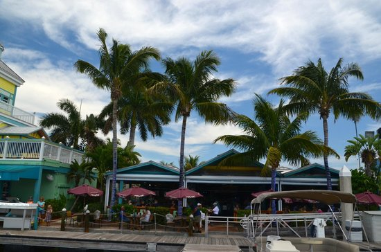 Parrot Key Caribbean Grill : On the water
