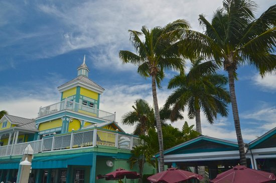 Parrot Key Caribbean Grill : Tropical setting